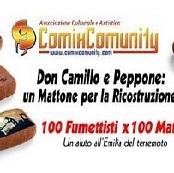 """ComixComunity al Bilbolbul con: """"Don Camillo e Peppone: un Mattone per la Ricostruzione"""""""