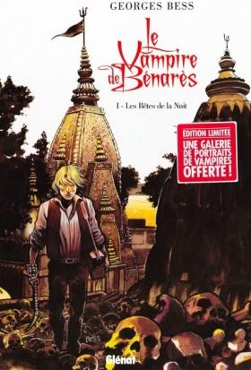 """""""Il vampiro di Benares"""" di Georges Bess in edicola per Editoriale Cosmo"""
