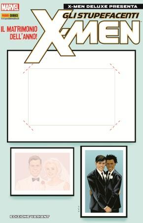 Marvel wedding contest in occasione di X-Men Deluxe 215