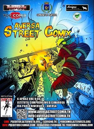 Seconda edizione per l'Aversa Street Comix