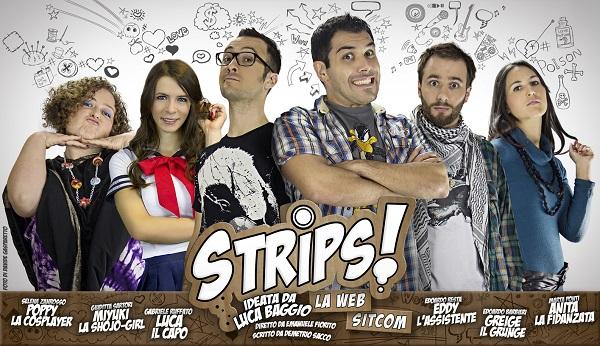 STRIPS! La sitcom arriva a Cartoomics 2013