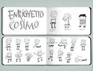 Luca Raffaelli, Enrichetto Cosimo, il manga mangante e il seme della narrazione