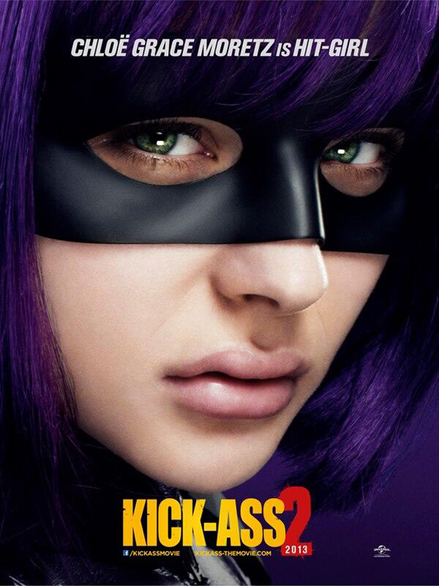 Kick-Ass 2: nuovo poster di Hit-Girl