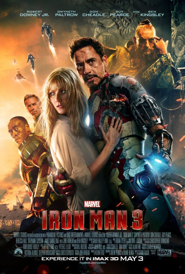 Iron Man 3: nuovo poster IMAX