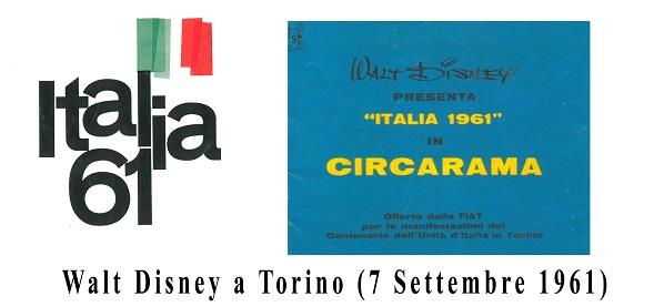 """Walt Disney e Italia '61 a Napoli Comicon con il video """"Walt Disney a Torino"""""""