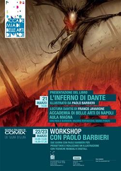 """Presentazione de """"L'Inferno di Dante"""" illustrato da Paolo Barbieri"""