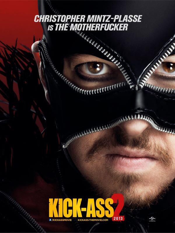 Kick-Ass 2: poster di Motherfucker