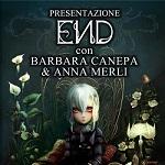 Barbara Canepa e Anna Merli al Centro Fumetto Andrea Pazienza per presentare END