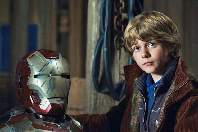 Iron Man 3: interview with Ty Simpkins