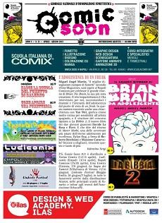LoSpazioBianco nel nuovo numero di Comic-Soon, free-press sul fumetto