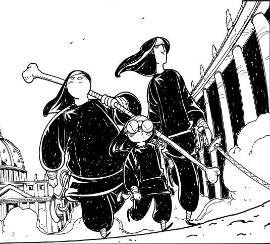 Suore Ninja #1 di (6) – Zombie Gay In Vaticano (La Rosa, Cardinali)
