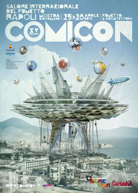 Il manifesto, lo spot e tutte le novità del Napoli Comicon 2013