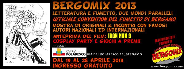 Il programma completo dell'ottava edizione di Bergomix