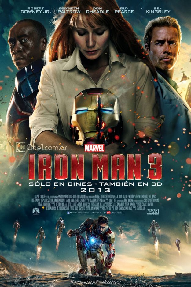 Iron Man 3: nuovo poster internazionale