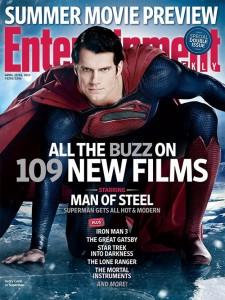 Man of Steel: cover su EW