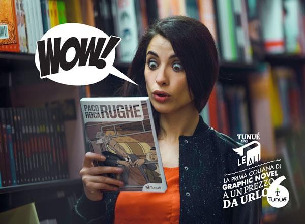 Tunué e la nuova collana di graphic novel a prezzo leggero: Le Ali
