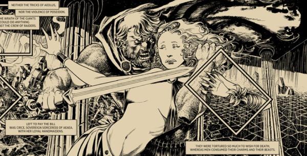 Odissea Nera, rilettura in chiave erotica del mito