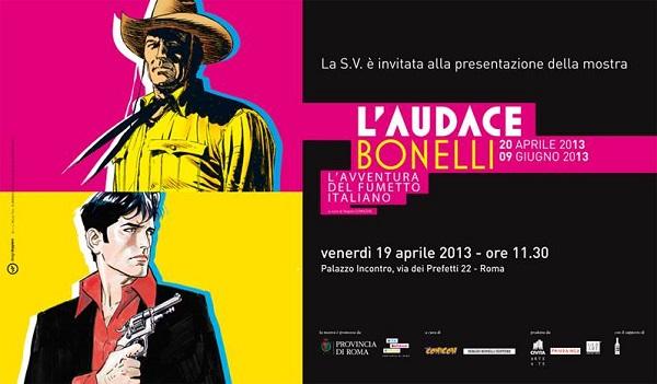 """Nuovo appuntamento con la mostra """"L'Audace Bonelli - L'Avventura del Fumetto Italiano"""""""