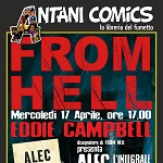 Eddie Campbell ospite di Antani Comics a Terni