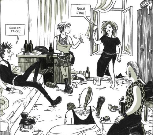Punk, fanzine, Berlino e femminismo. In conversazione con Ulli Lust