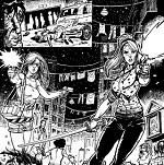 """Il gruppo di artisti Artsteady presenta il fumetto """"47 Dead Man Talking"""""""