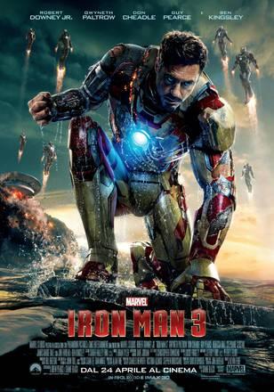 Iron Man 3 (la locandina)