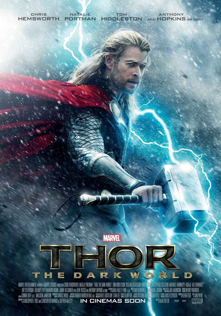 Il poster di Thor: The Dark World