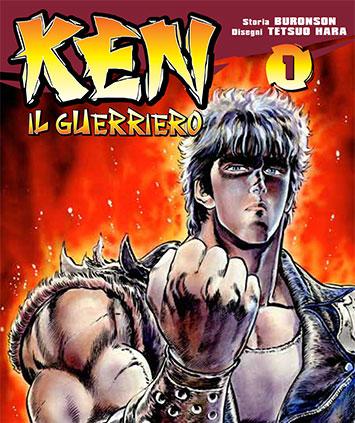 La nuova edizione di Ken il Guerriero in edicola con il Corriere dello Sport e Tuttosport