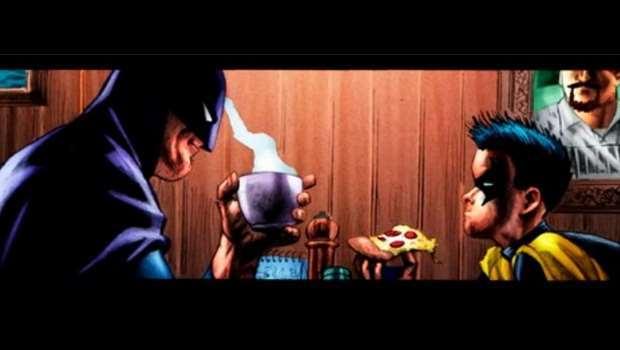 Ricette di china: risotto alla Batman