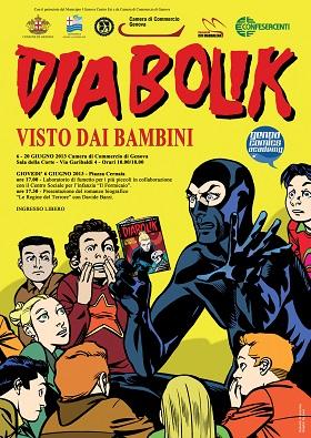 "Genoa Comics Academy presenta la mostra ""Diabolik visto dai bambini"""