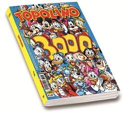 Topolino, il settimanale Disney, taglia il traguardo del numero 3000