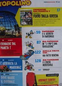 Sommario Topolino 2902