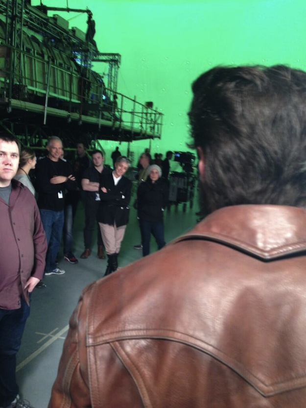X-Men: Days of Future Past - Ecco Wolverine sul set
