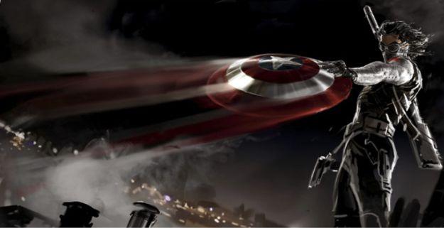 Nuovo concept di Captain America: The Winter Soldier