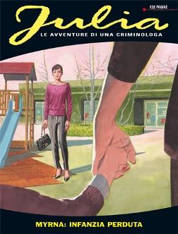 Julia # 175 – Myrna: infanzia perduta (Berardi, Mantero, Boraley) - julia0175