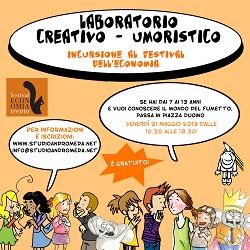 Laboratorio di fumetto gratuito per bambini ideato dallo Studio d'Arte Andromeda