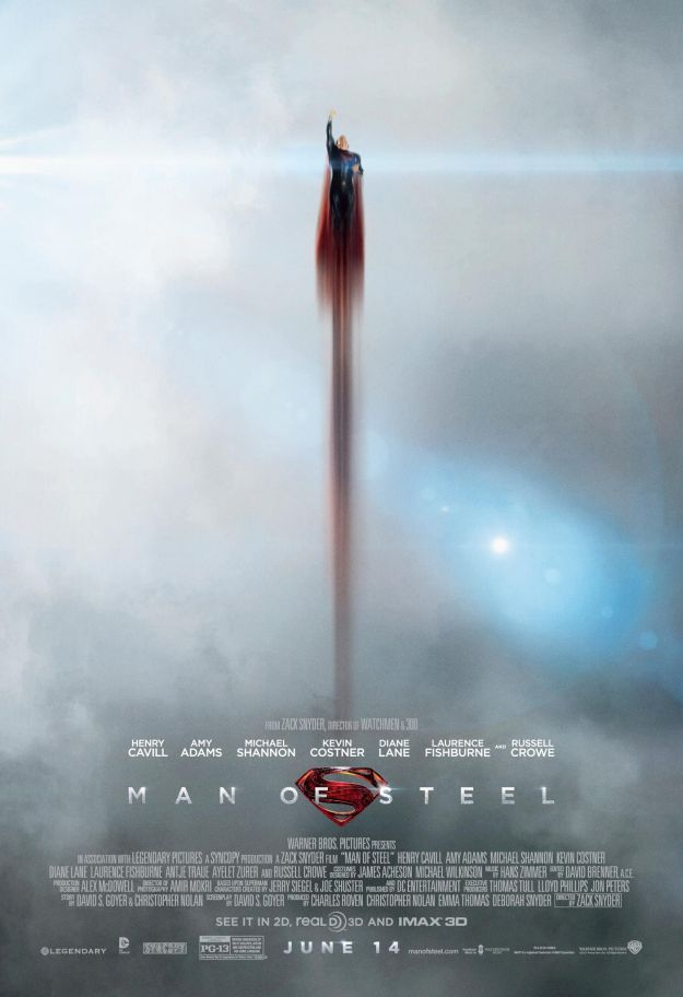 Terzo poster di Man of Steel