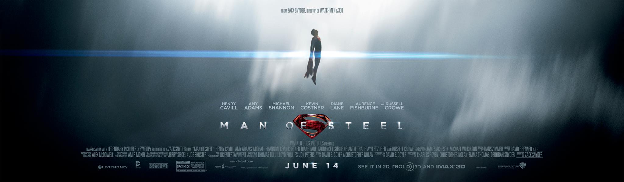Nuovo banner per Man of Steel