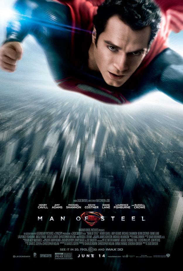 Il nuovo poster di Man of Steel