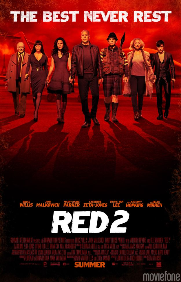 Nuovo poster all-star per Red 2