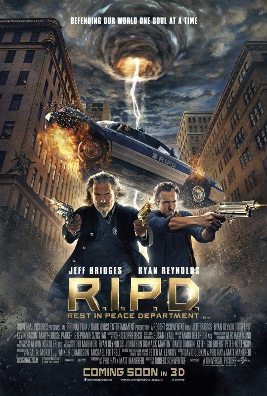 Il poster ufficiale di R.I.P.D.