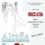 Incontro a Perugia con il maestro del fumetto Horacio Altuna