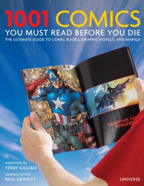 """""""1001 fumetti (da leggere prima di morire)"""" a ottobre per Atlante Edizioni"""