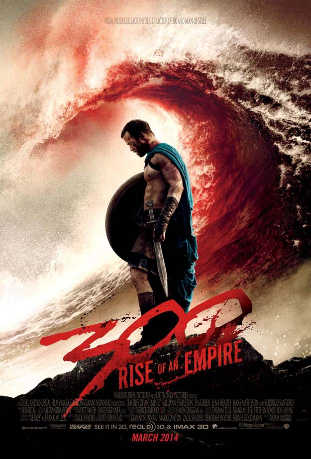 Primo poster per 300: Rise of an Empire