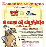 16 giugno, cena evento a Sarzana con Dentiblù e Comic House