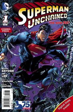 Anteprima: Superman Unchained al debutto negli USA