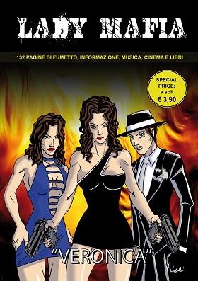 Disponibile dal 20 Giugno il primo numero di Lady Mafia, fumetto noir ambientato in Puglia