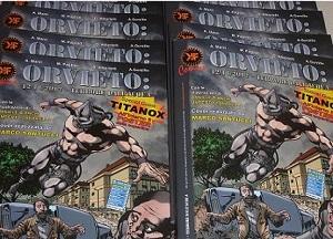 La casa editrice Kreator Factory e il supereroe Titanox in favore degli alluvionati di Orvieto