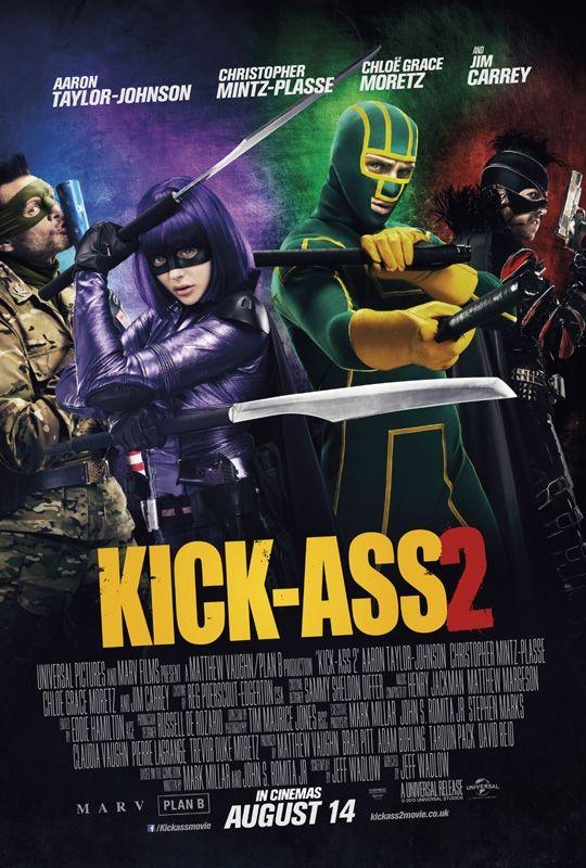 Nuovo poster internazionale per Kick-Ass 2