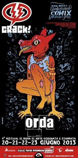Torna nei sotterranei del Forte Prenestino di Roma CRACK! IX Festival di arte disegnata e stampata.